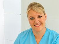Zahnmedizinische Fachangestellte Frau Beck Profilfoto