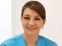 Zahnmedizinische Fachanegstellte Frau Sokolovic