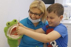 Zahnärztin Jguburia - die kinderliebe Zahnärztin aus Hannover